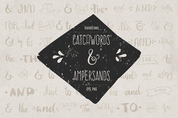 Handdrawn Catchwords Set Graphic Illustrations By Favete Art - Image 2