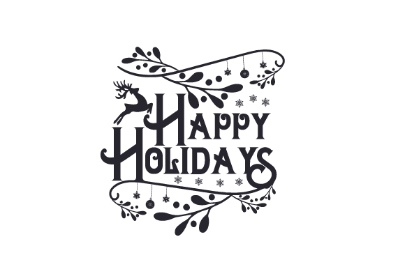 Download Free Happy Holidays Svg Cut File By Creative Fabrica Crafts for Cricut Explore, Silhouette and other cutting machines.