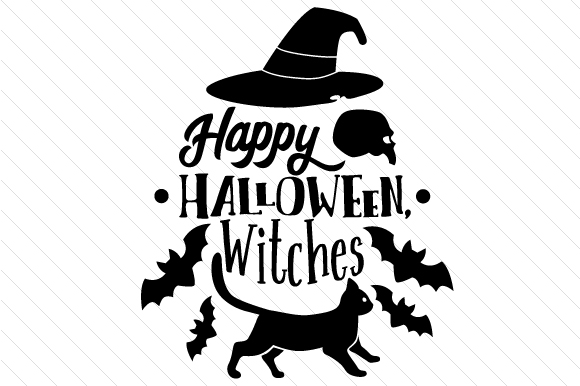 Happy Halloween Witches Halloween Craft Cut File By Creative Fabrica Crafts - Image 2