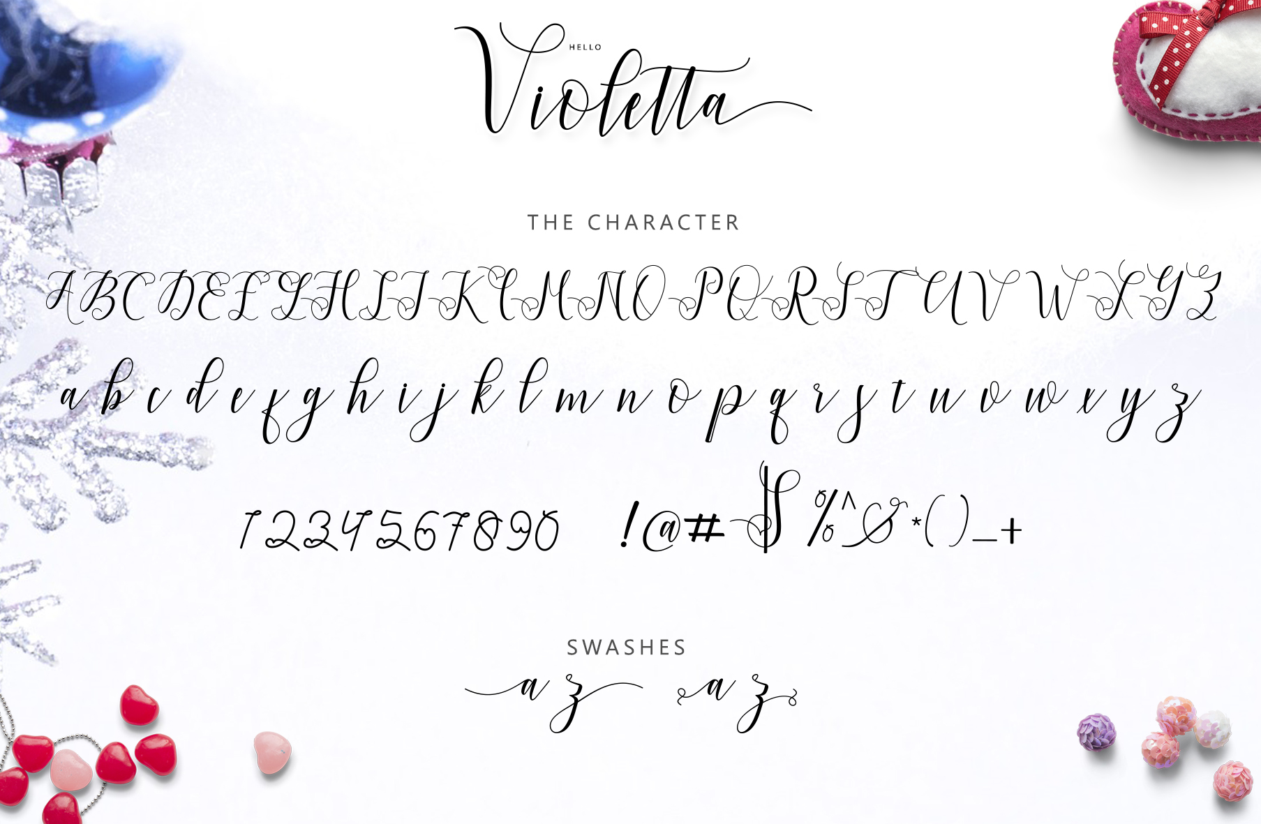 Hello Violetta Font By Bexx Type Image 9