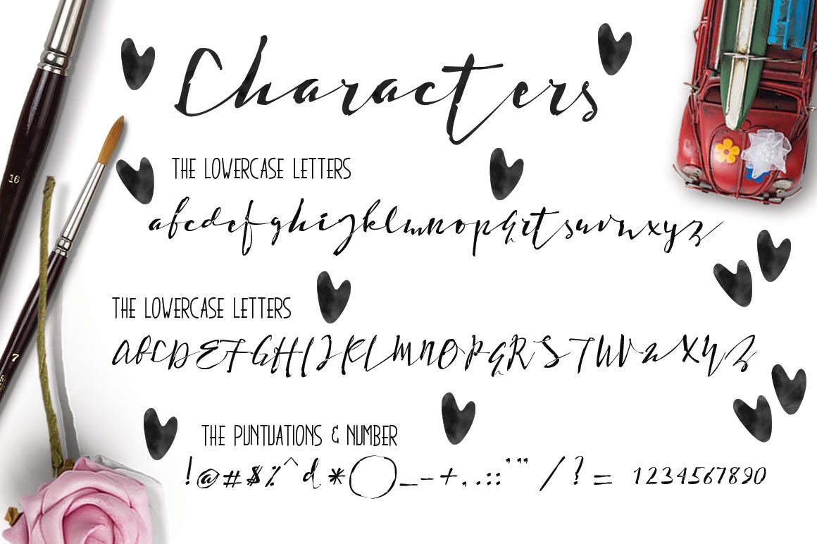 Print on Demand: Holdenisty Script & Handwritten Font By beeart009 - Image 6