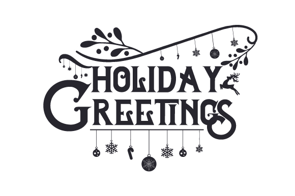 Download Free Holiday Greetings Svg Cut File By Creative Fabrica Crafts for Cricut Explore, Silhouette and other cutting machines.
