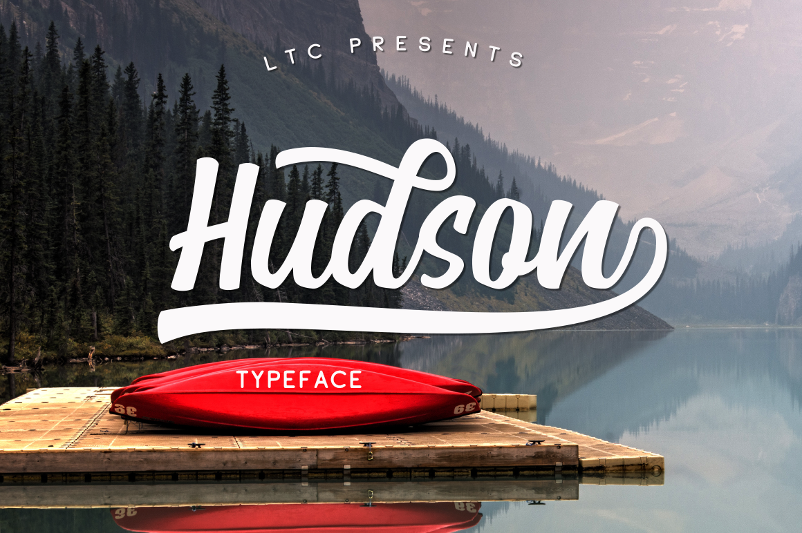 Print on Demand: Hudson Script & Handwritten Font By Pasha Larin