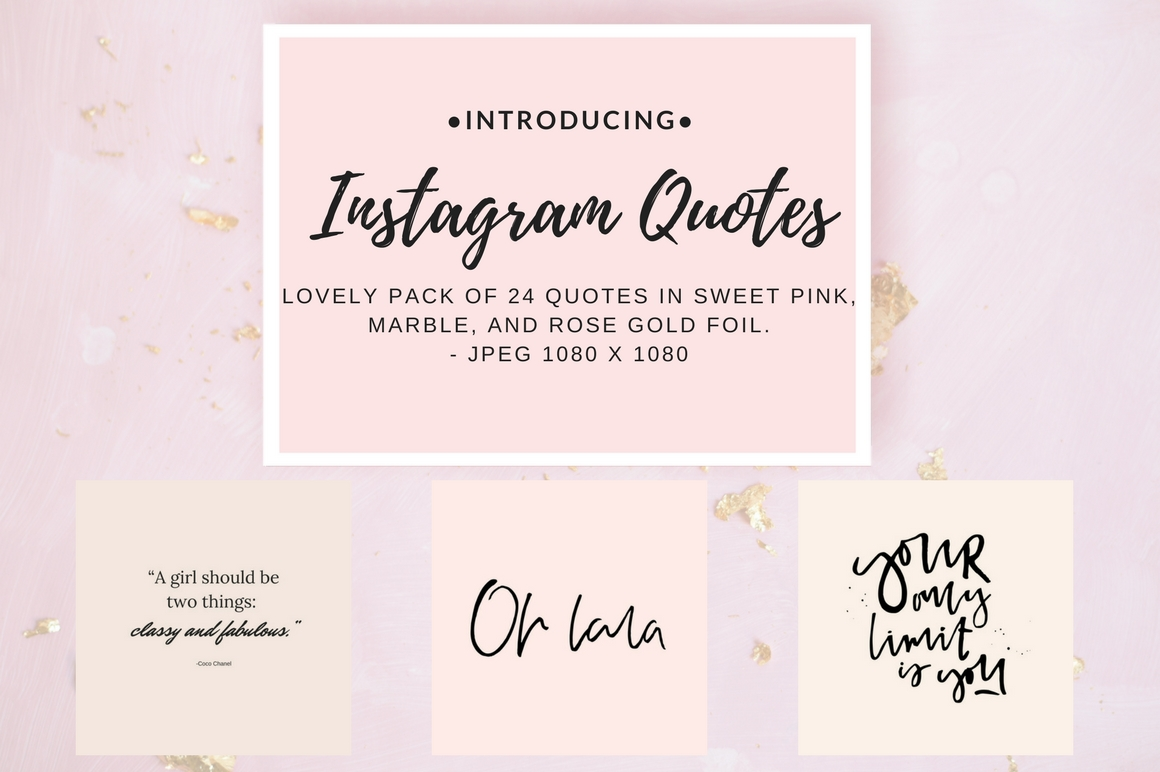 Instagram Quotes Pack Graphic Graphic Templates By Creative Stash - Image 2