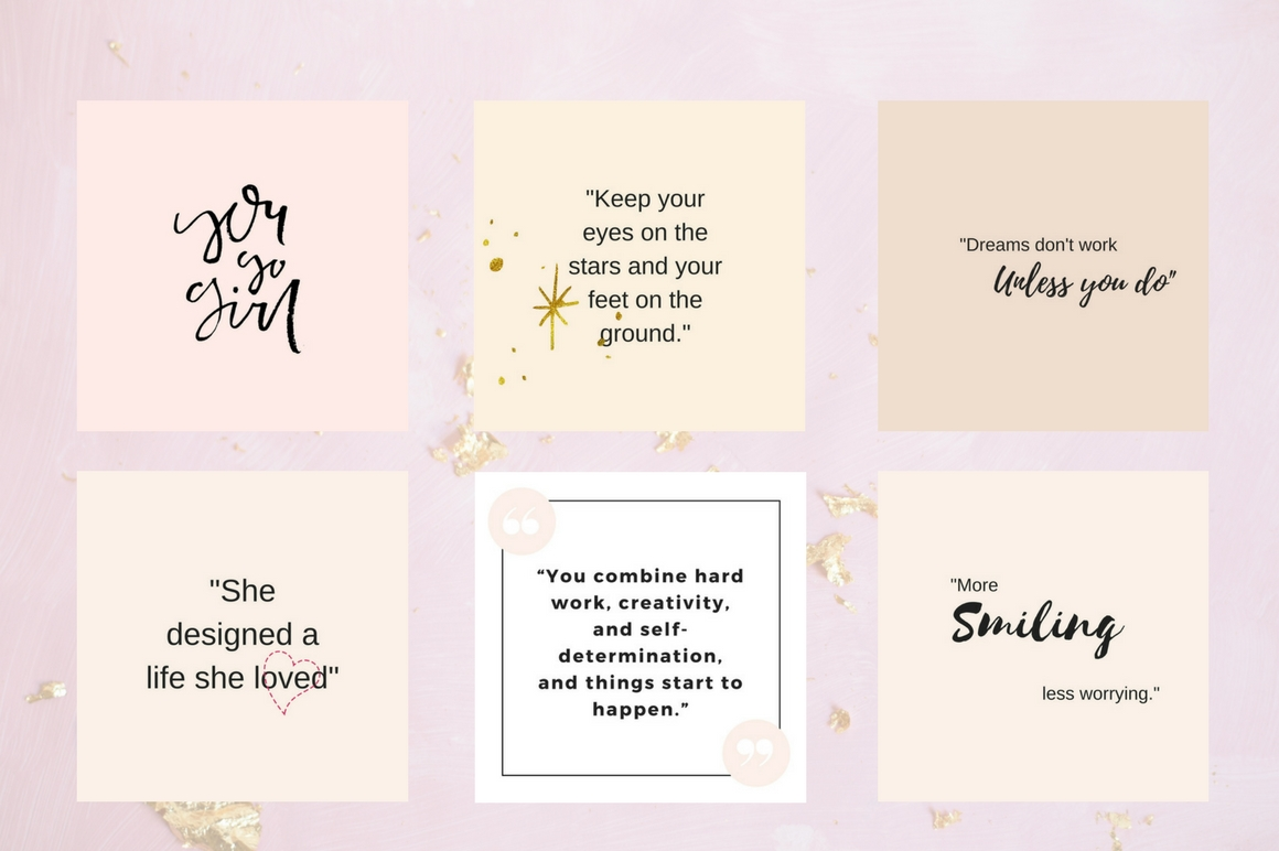 Instagram Quotes Pack Graphic Graphic Templates By Creative Stash - Image 5