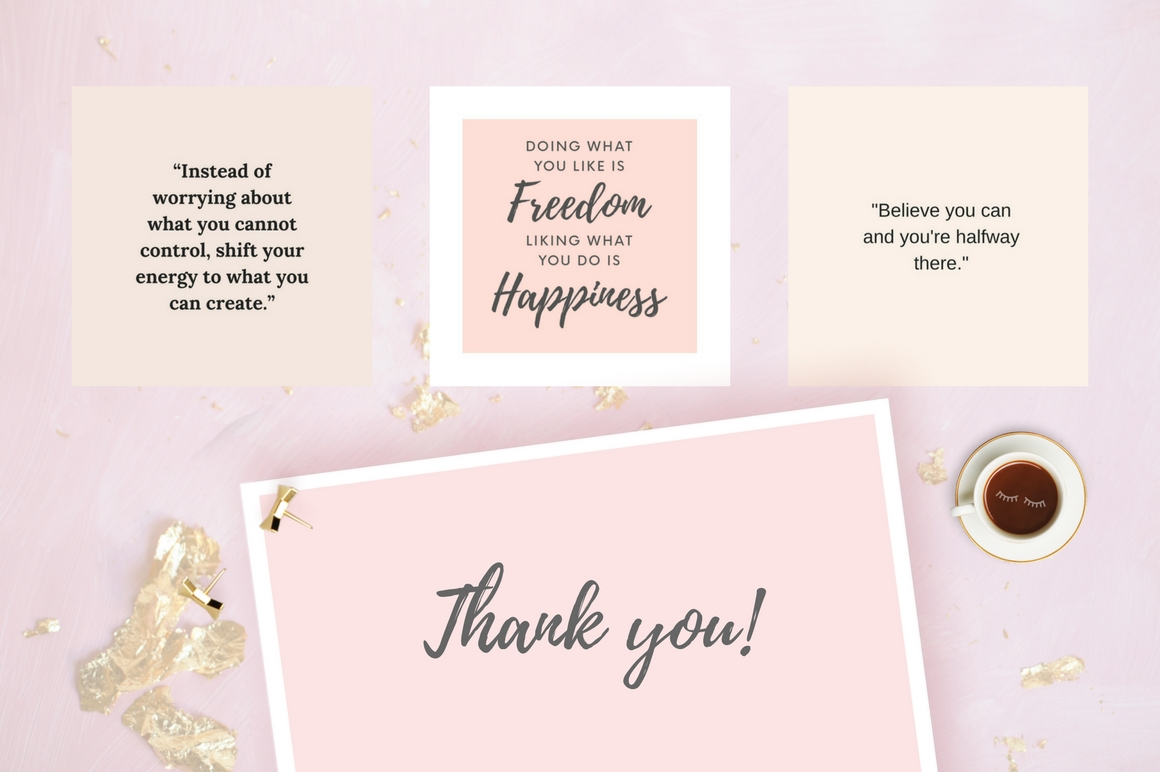 Instagram Quotes Pack Graphic Graphic Templates By Creative Stash - Image 6
