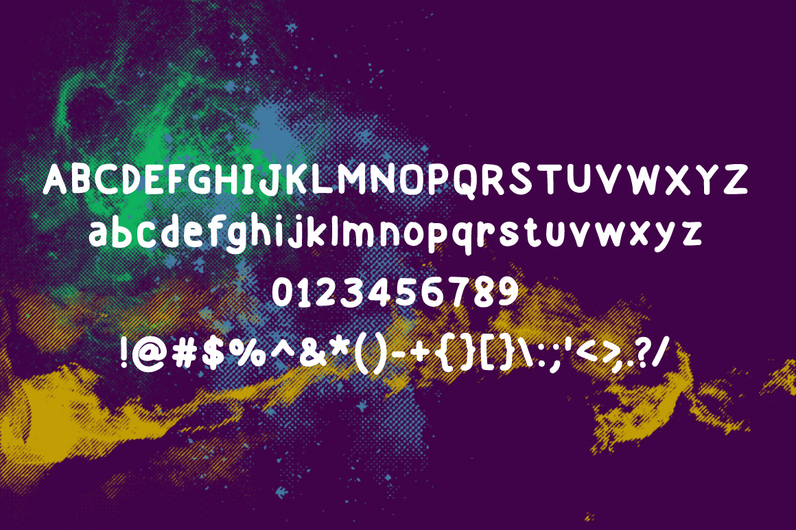 Print on Demand: Isrety Display Font By Contour Fonts - Image 4
