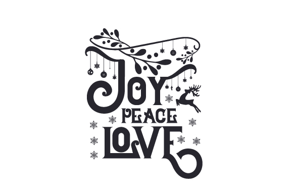Download Free Joy Peace Love Svg Cut File By Creative Fabrica Crafts Creative Fabrica for Cricut Explore, Silhouette and other cutting machines.
