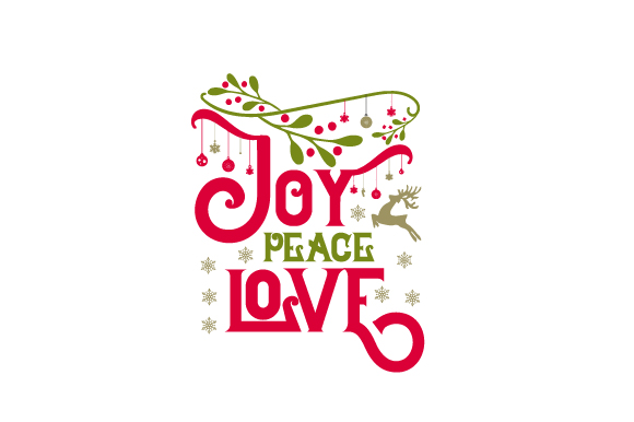 Download Free Joy Peace Love Svg Cut File By Creative Fabrica Crafts for Cricut Explore, Silhouette and other cutting machines.