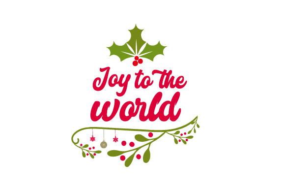 Joy to the world SVG Cut file by Creative Fabrica Crafts ...