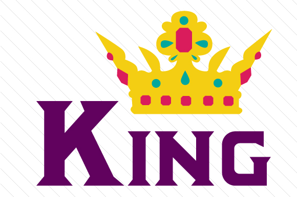 King 2 Kids Craft Cut File By Creative Fabrica Crafts - Image 1
