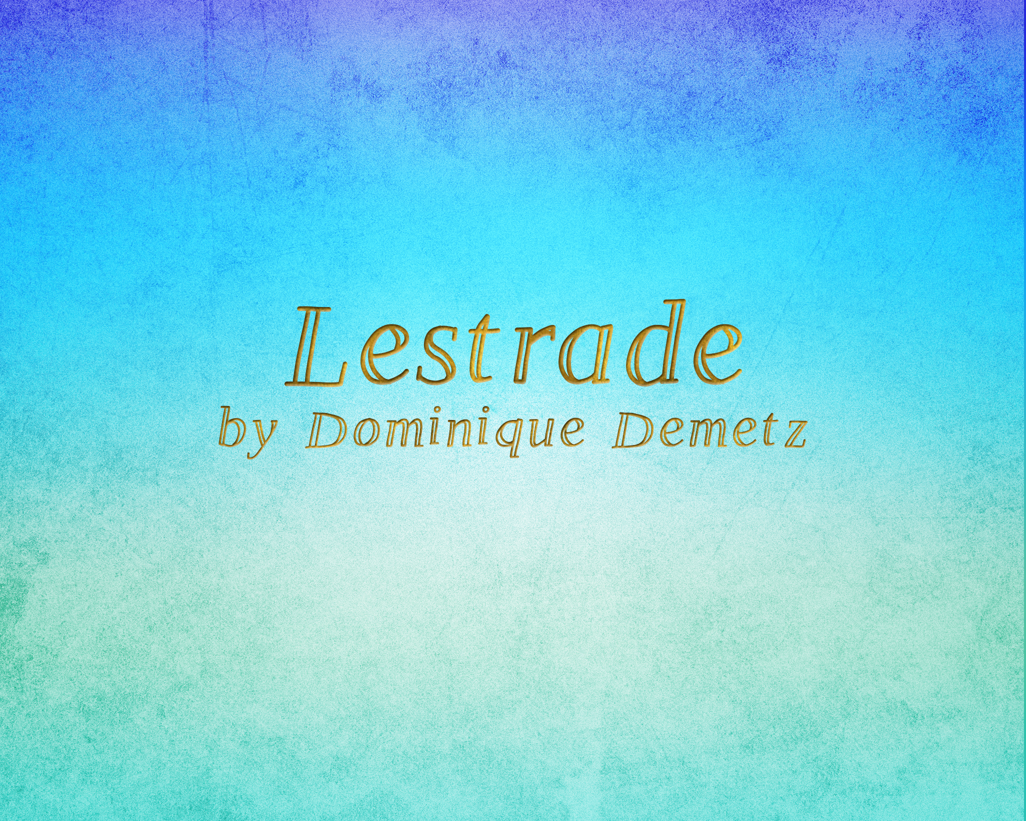 Print on Demand: Lestrade Display Font By Dominique Demetz