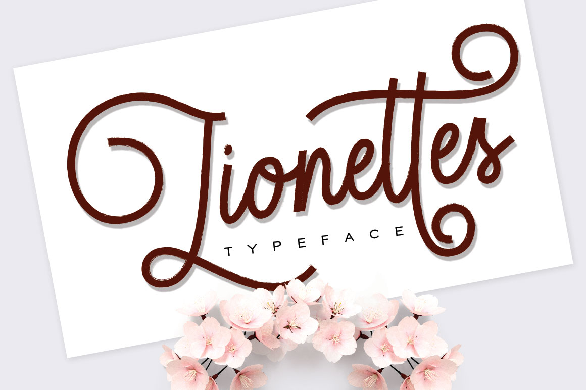 Print on Demand: Lionettes Script & Handwritten Font By beeart009 - Image 1