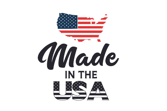 Made in the USA Kids Craft Cut File By Creative Fabrica Crafts - Image 1