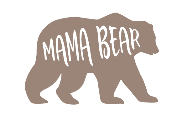 Mama Bear SVG Cut File By Creative Fabrica Crafts