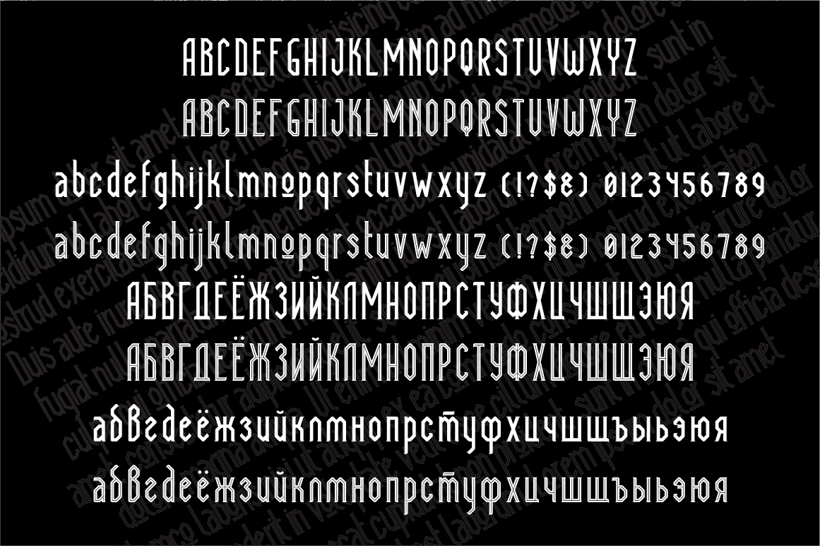 Print on Demand: Megapolis Serif Font By NREY - Image 2