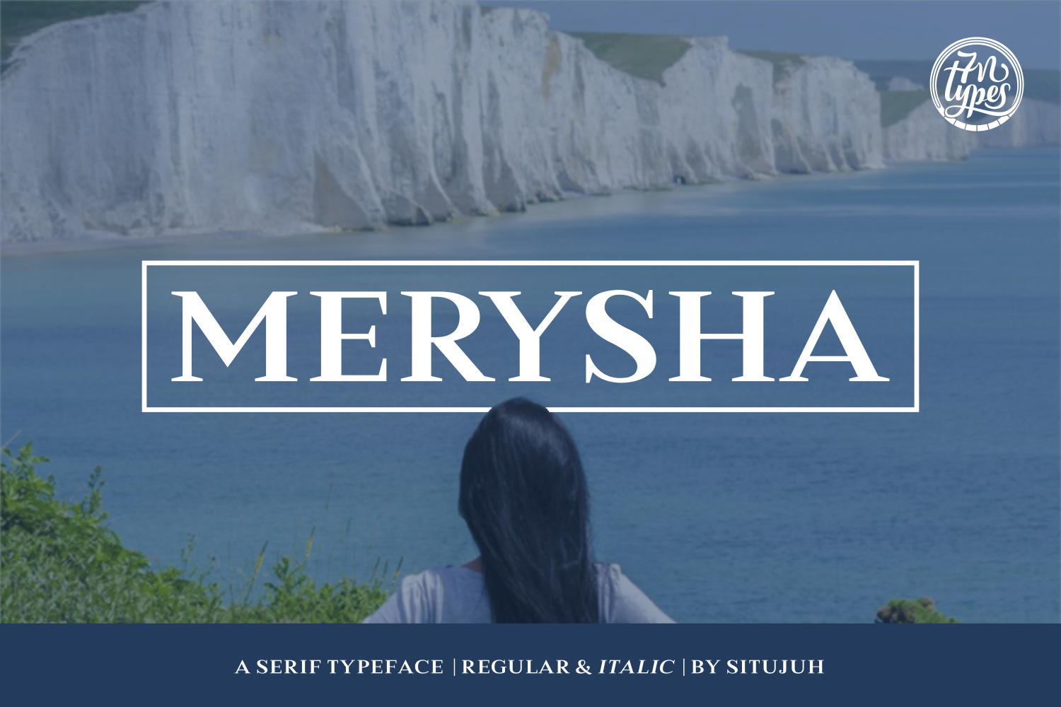 Print on Demand: Merysha Serif Font By Situjuh - Image 2