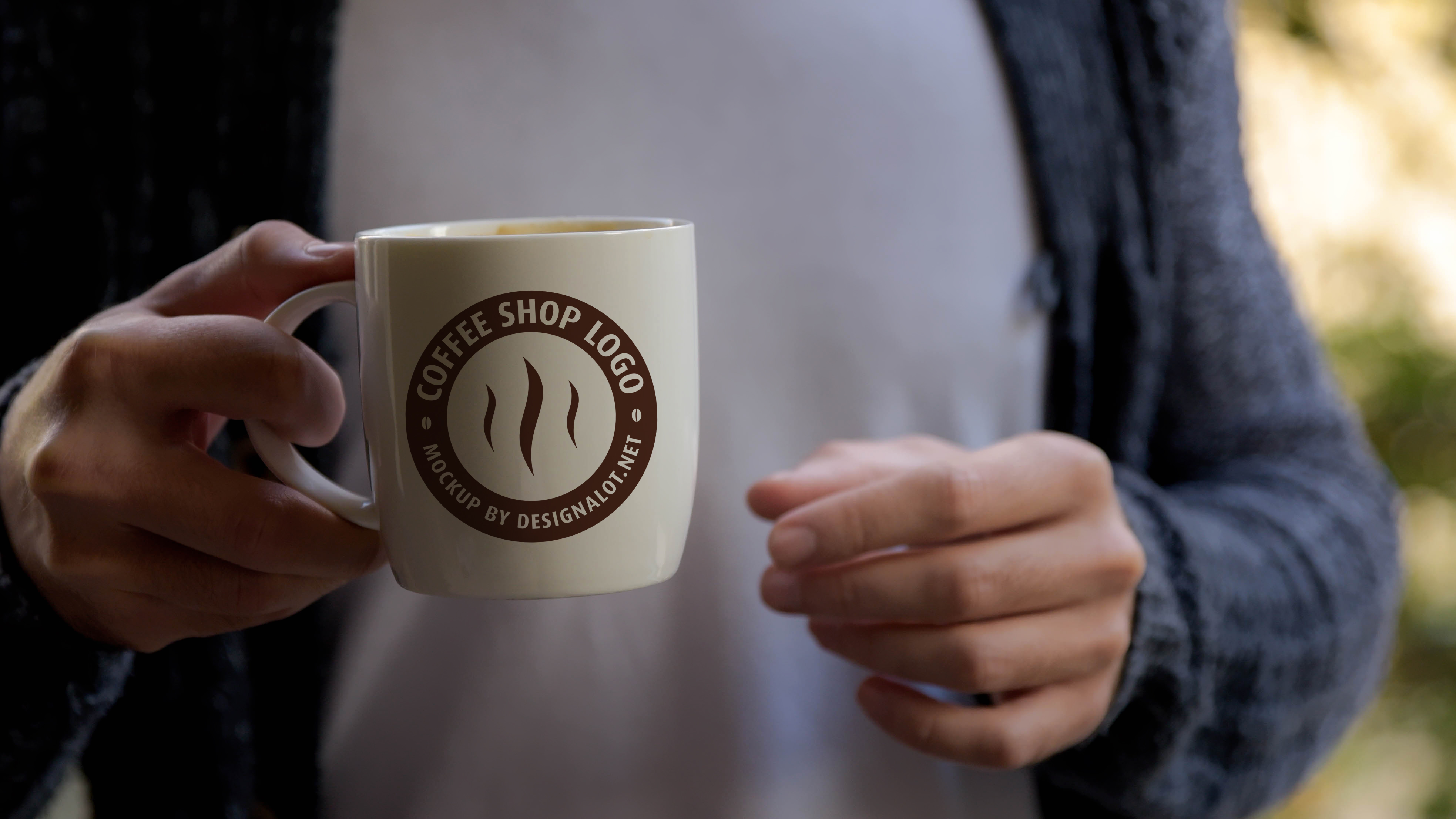 Download Free Models With Coffee Mugs Mockups Pack Graphic By Design A Lot for Cricut Explore, Silhouette and other cutting machines.