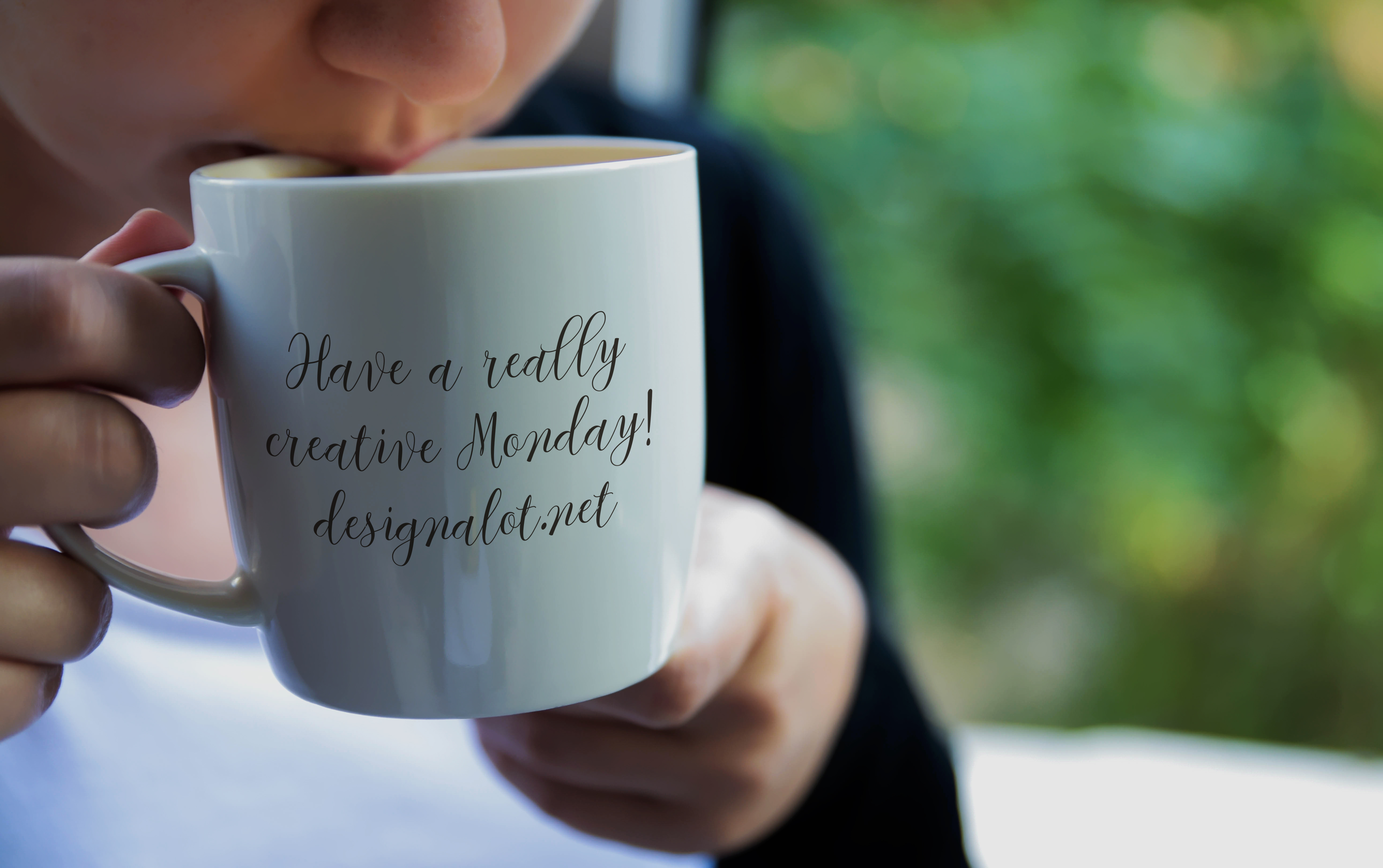 Print on Demand: Models with Coffee Mugs Mockups Pack Graphic Product Mockups By Design A Lot