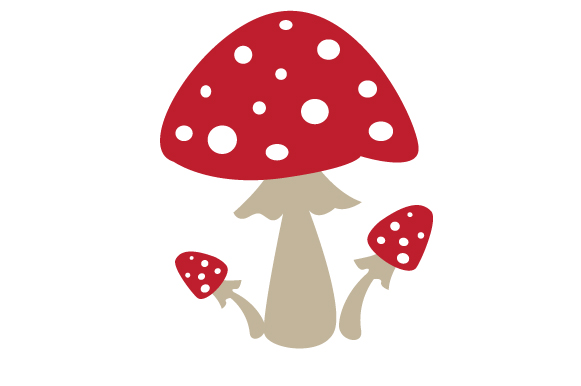 Mushroom Fall Craft Cut File By Creative Fabrica Crafts