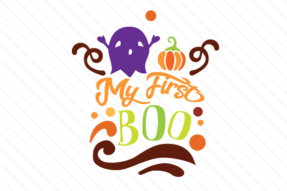 My First Boo Halloween Craft Cut File By Creative Fabrica Crafts