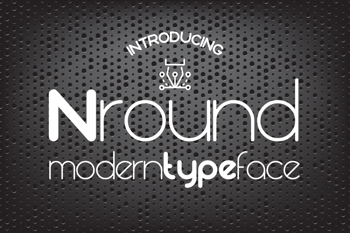 Print on Demand: Nround Sans Serif Font By NREY