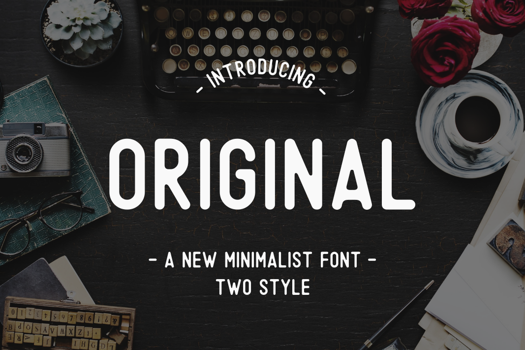 Print on Demand: Original Sans Serif Font By Sameeh Media
