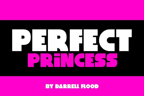 Print on Demand: Perfect Princess Sans Serif Font By Dadiomouse