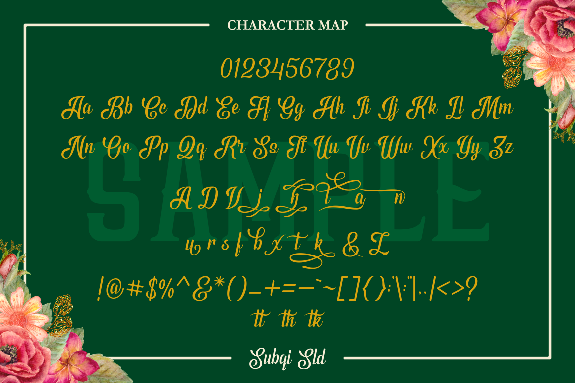 Print on Demand: Phyton Script & Handwritten Font By Subqi Std - Image 11