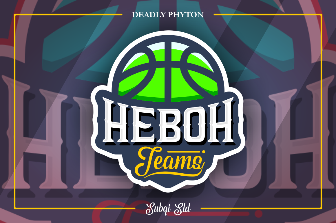 Phyton Font By Subqi Std Image 4