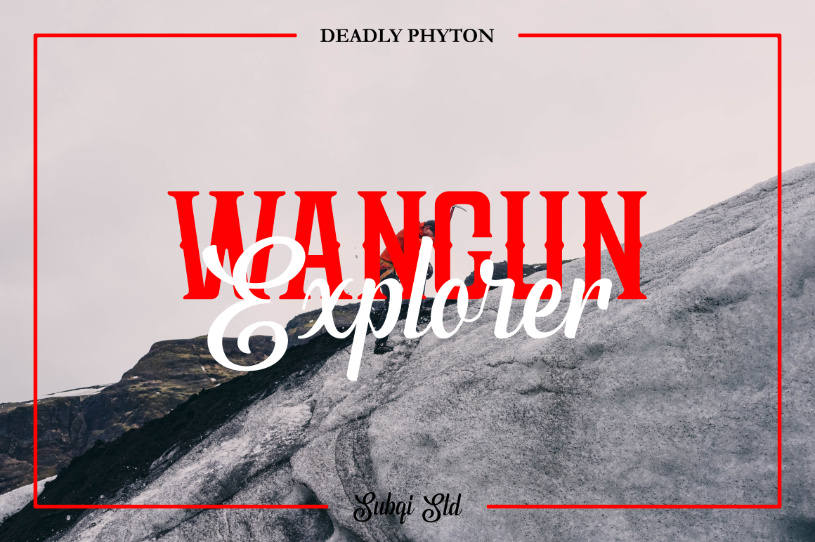 Phyton Font By Subqi Std Image 6