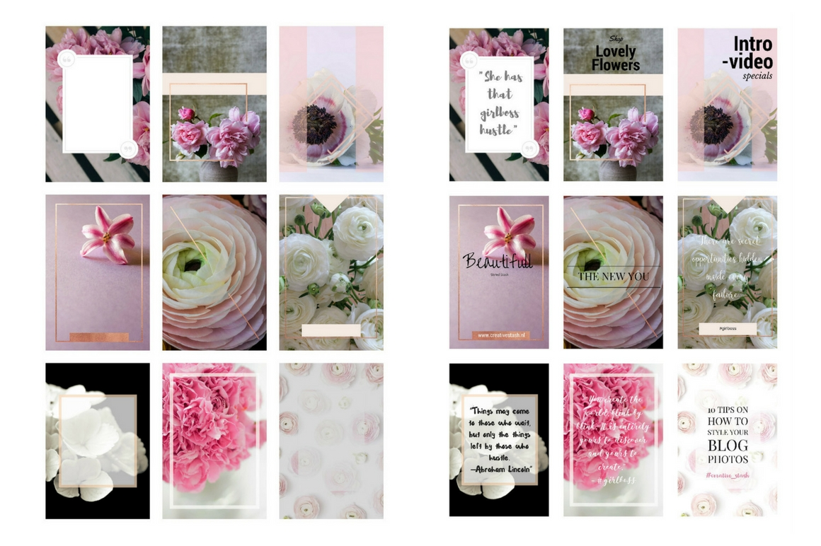 Download Free Pinterest Templates Pink Passion Graphic By Creative Stash for Cricut Explore, Silhouette and other cutting machines.