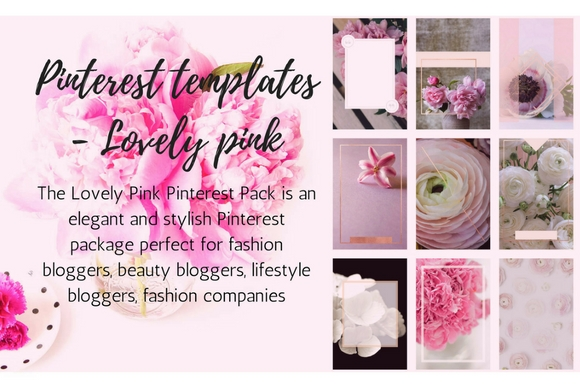 Pinterest Templates- Pink Passion Graphic Graphic Templates By Creative Stash