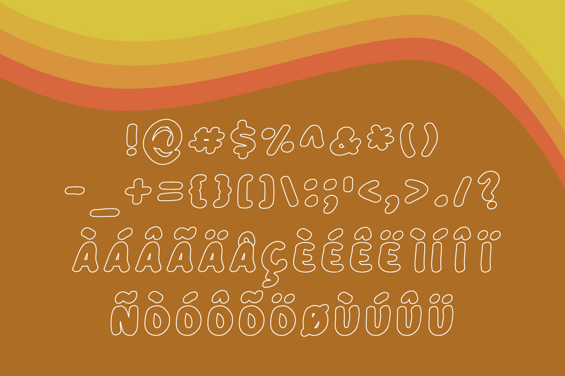 Plucky Stroke Font By Contour Fonts Image 5