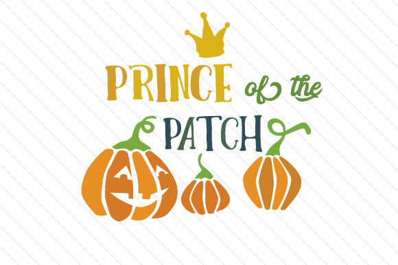 Prince of the Patch Halloween Craft Cut File By Creative Fabrica Crafts