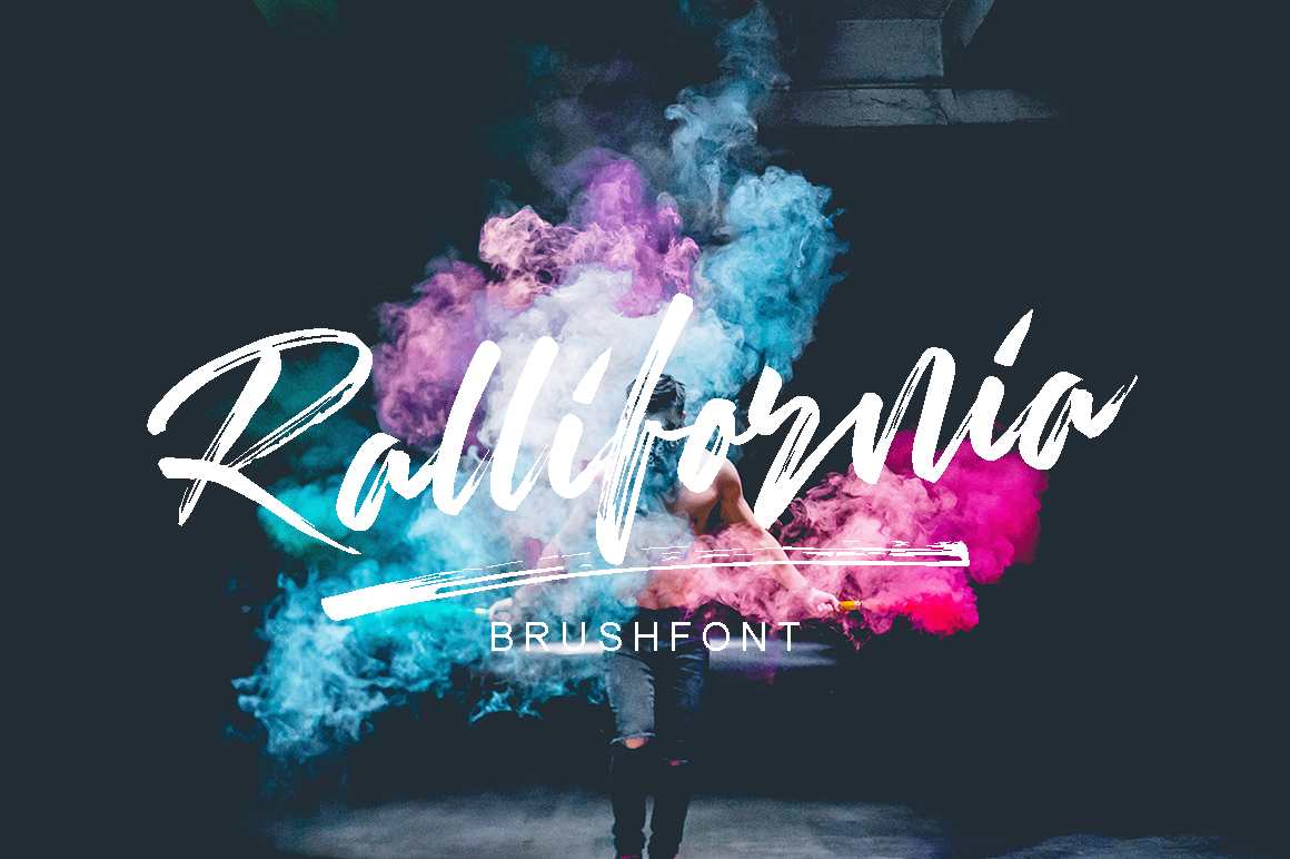 Print on Demand: Rallifornia Script & Handwritten Font By missinklab