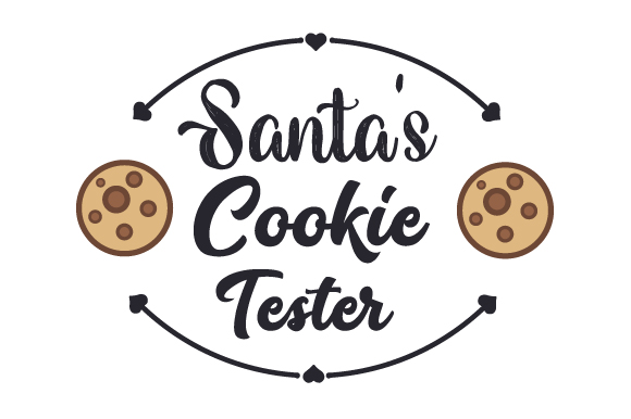 Santa S Cookie Tester Svg Cut File By Creative Fabrica Crafts