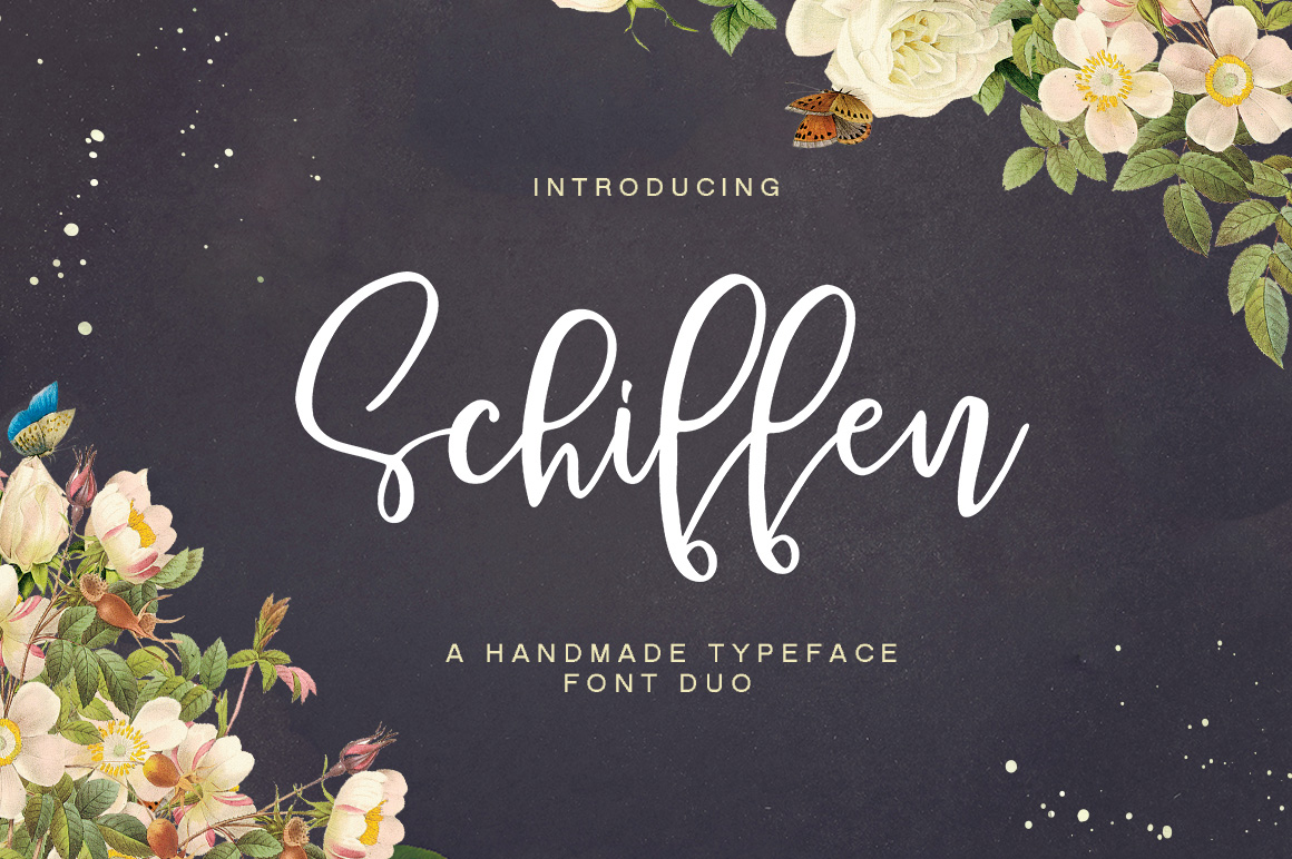 Print on Demand: Schiffen Script Script & Handwritten Font By Youngtype