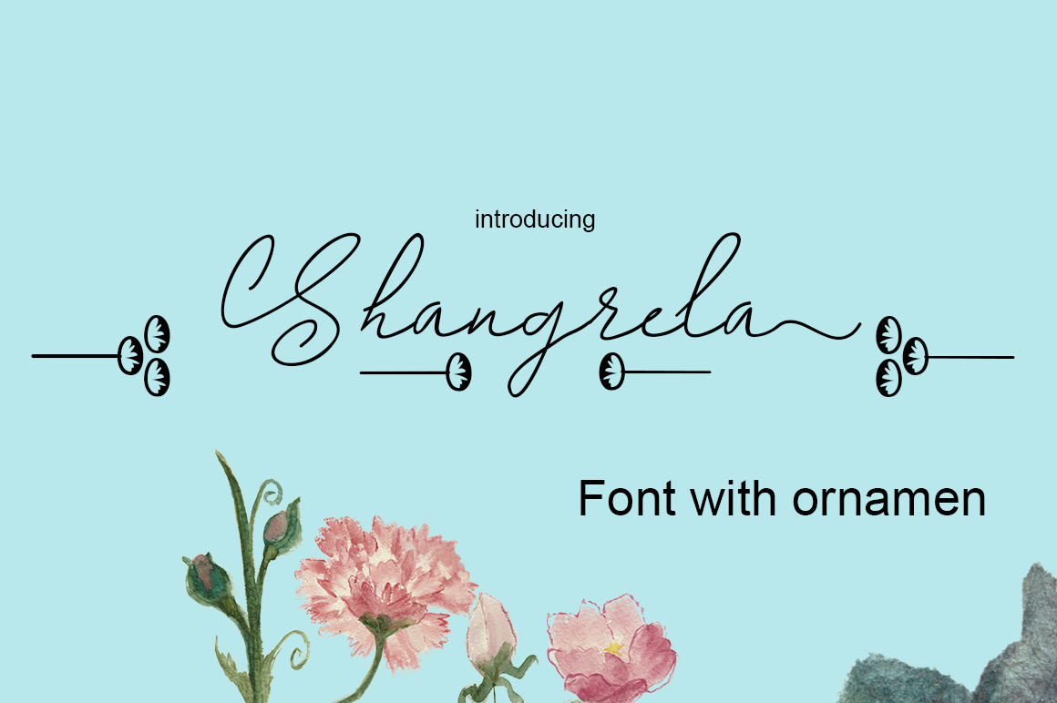 Shangrela Font By halimantoni103