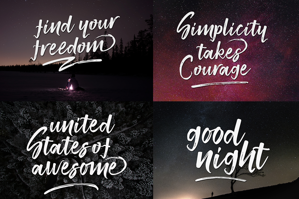Print on Demand: Smithen Script & Handwritten Font By Youngtype - Image 5