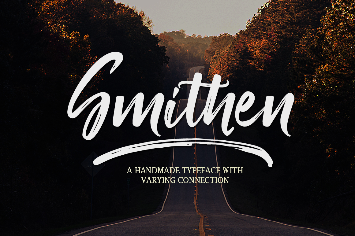 Print on Demand: Smithen Script & Handwritten Font By Youngtype