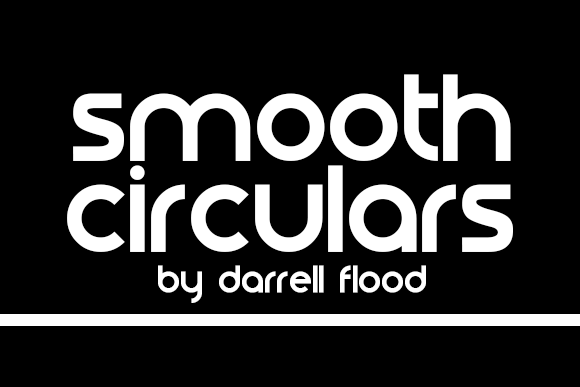 Print on Demand: Smooth Circulars Display Font By Dadiomouse - Image 1