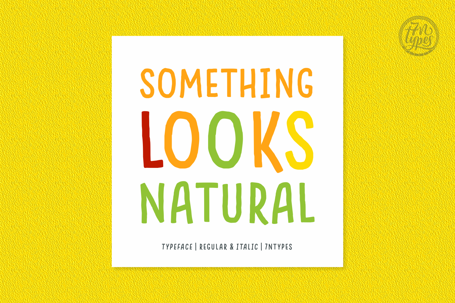 Something Looks Natural Script & Handwritten Font By Situjuh