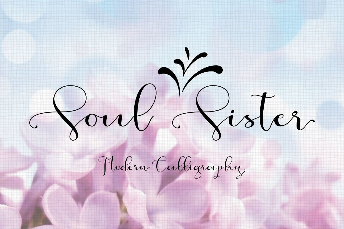 Print on Demand: Soul Sister Script & Handwritten Font By beeart009