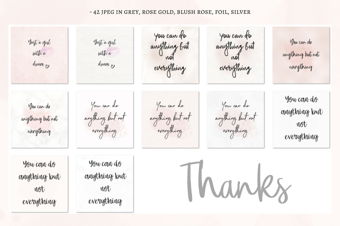 Sparkly, Glamour Quotes Graphic By Creative Stash Image 6