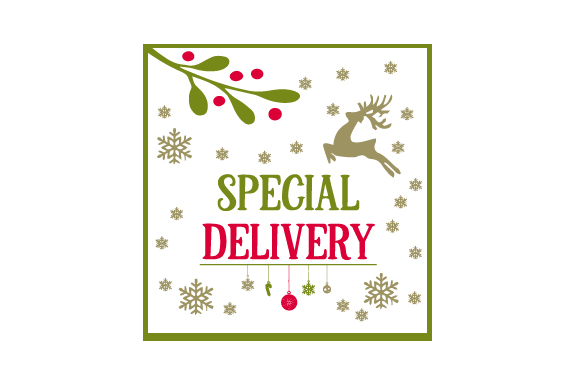 Download Free Special Delivery Santa Bag Design Archivos De Corte Svg Por for Cricut Explore, Silhouette and other cutting machines.
