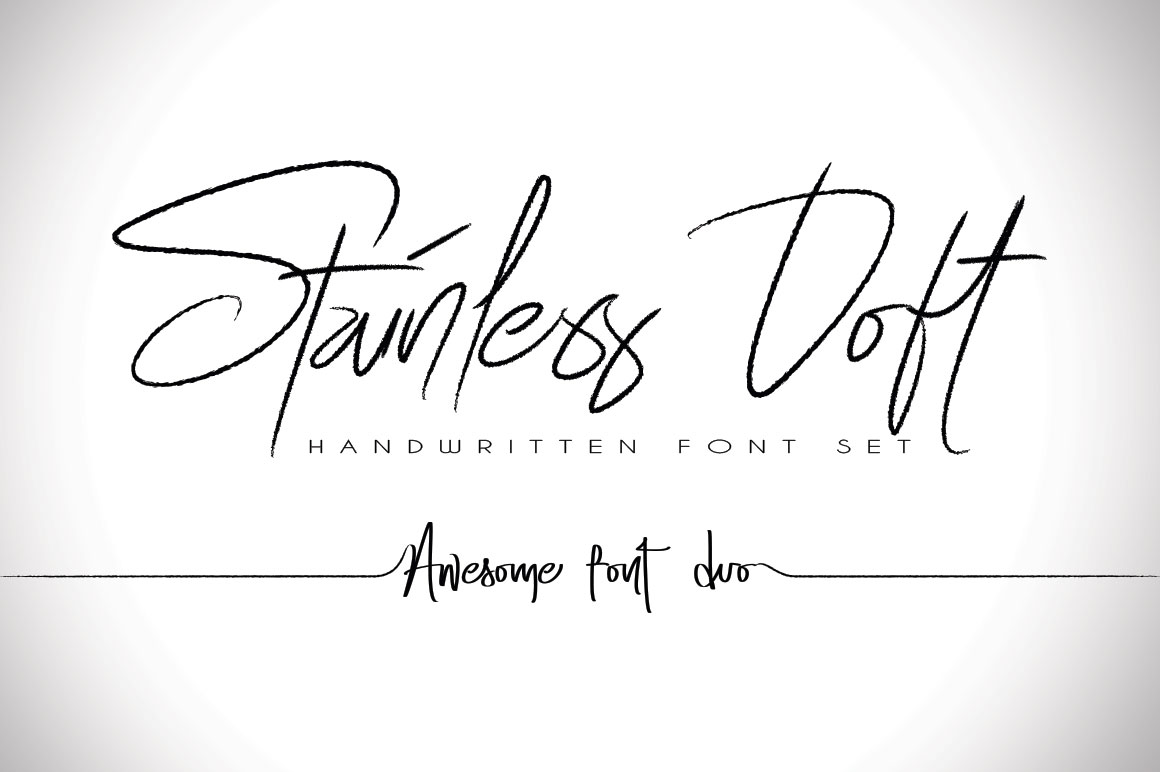 Print on Demand: Stainless Doft Script & Handwritten Font By beeart009