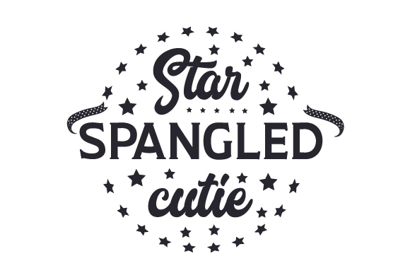 Download Free Star Spangled Cutie Svg Cut File By Creative Fabrica Crafts SVG Cut Files