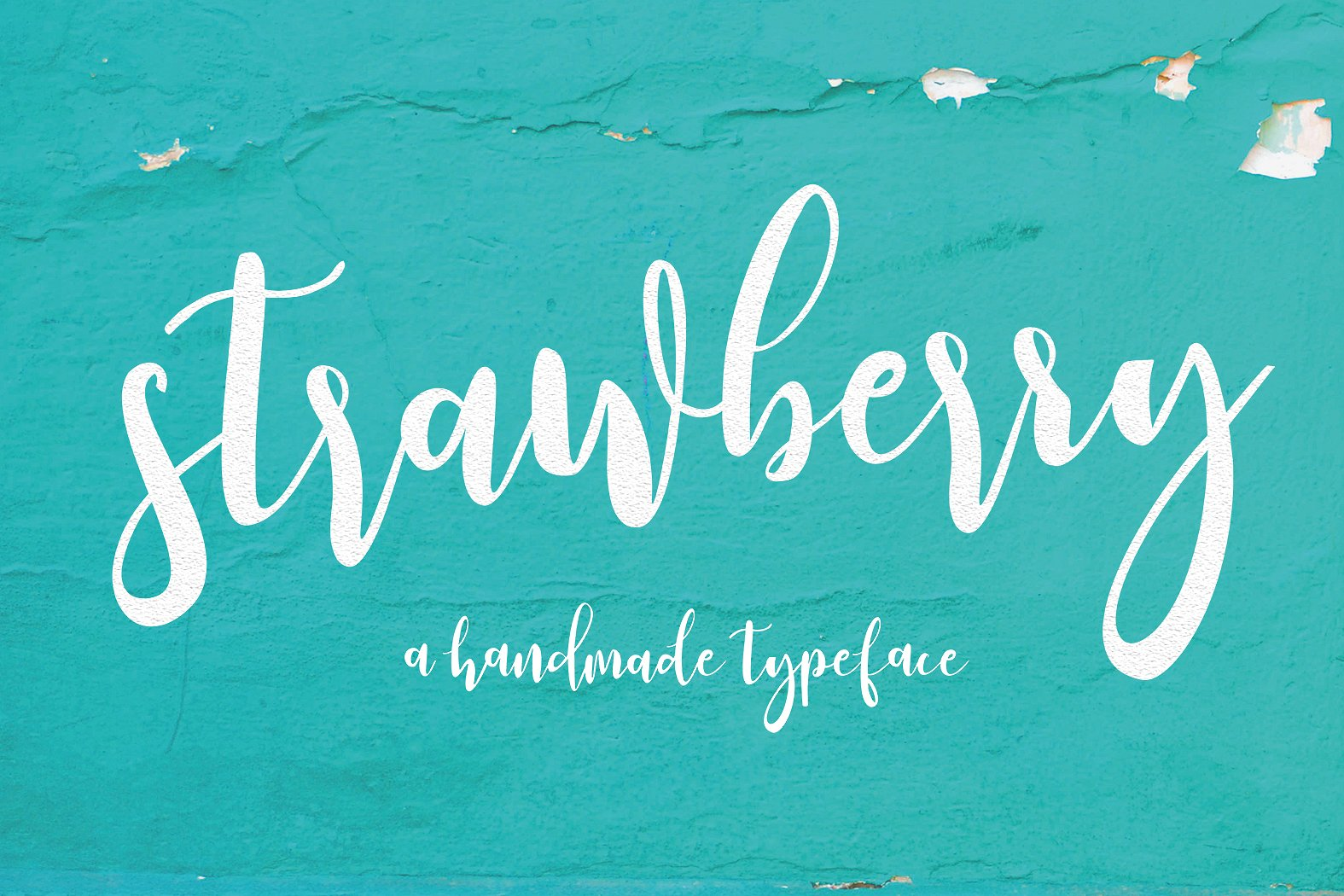 Print on Demand: Strawberry Script Script & Handwritten Font By Youngtype
