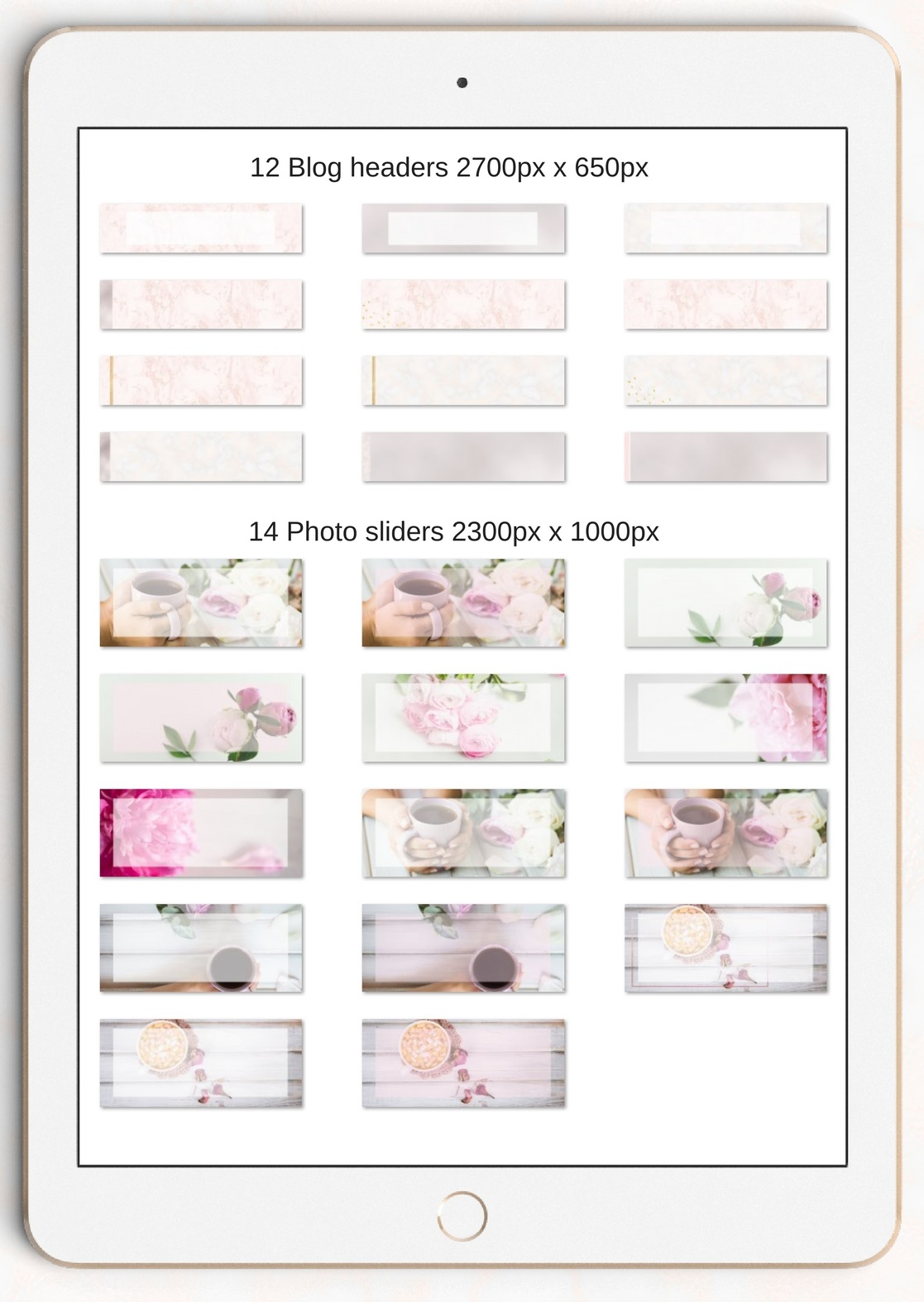 The Creative Blog Kit Graphic Web Elements By Creative Stash - Image 3